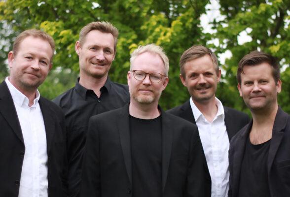 Billede af festbandet Musik non stop